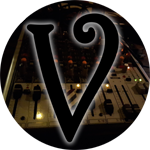 Steven Cuffari, podcaster at VoicesfromtheDark.com, logo